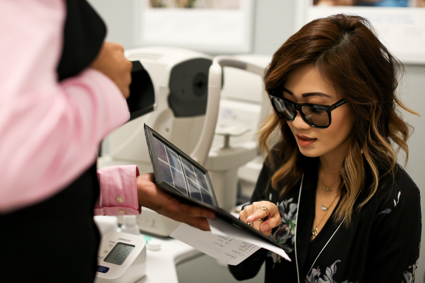 lenscrafters loves macy's grand opening at water tower place